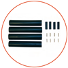 Аксессуары Nexans - для присоединения, монтажа и ввода кабеля (для труб и кабелей)