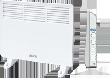 Электрические конвекторы SCOOLE серия CM1 WT - механический термостат